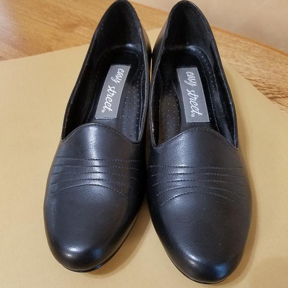 Easy Street Black Loafer, sz 8.5N
